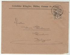 Suisse /Schweiz/Svizzera/Switzerland // Croix Fédérale // Lettre De Gossau Pour Zuzwyl, 30.12.1900 - 1882-1906 Armoiries, Helvetia Debout & UPU