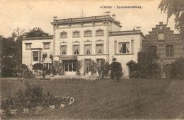 Schilde : Spreeuwenberg  1909 - Schilde