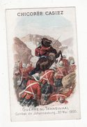 Chromo  CHICOREE CASIEZ BOURGEOIS   Guerre Du Transvaal   Combat De Johannesburg - Autres