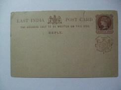 INDIA - Nabha State - Victoria 1/4 Anna Stationary Card Unused - Nabha