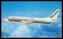 AIRPLANES - MODERN ERA -« TRANSAVIAS » Boeing 737-300. Carte Postale - 1946-....: Moderne