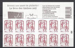 Carnet Marianne De Ciappa. LP 20g: Le Livre Des Timbres 2017 - Carnets