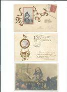 LOT    De     200    Cartes   Postales    Anciennes    Fantaisies - Cartoline