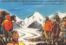 "07257 ""KANJUT SAR 1961 - DIRETTO DA G. GUERRASIO - DINO DE LAURENTIS DISTRIB. CINEMAT."" CART. PUBBL. ORIG. NON SPED. - Cinema"