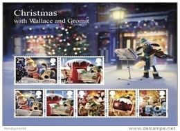 GROSSBRITANNIEN GRANDE BRETAGNE GB 2010 CHRISTMAS MS SG MS3135 MI B61-3023-29 SC SH2849 YV BF79-3409-15 - Ganze Bögen & Platten