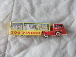 Camion Et Cages Aux Fauves Du Cirque Pinder Richard Zoo En Carton - Reclame - Alle Merken