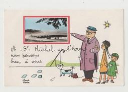 CPSM SAINT MICHEL EN L' HERM Illustrateur Claude Vernier - Saint Michel En L'Herm
