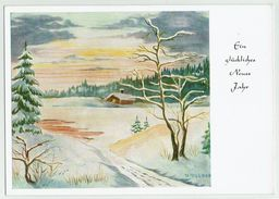 (14.402) Künstlerkarte, Frohe Weihnacht & Neues Jahr - Weihnachten