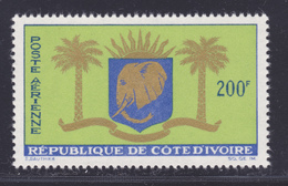 COTE D'IVOIRE AERIENS N°   32 ** MNH Neuf Sans Charnière, TB (D3893) Armoiries - Costa De Marfil (1960-...)