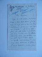 45 ORLEANS Courrier à Entête De L'ECOLE SAINTE -CROIX 19 Rue Du Colombier Juillet 1936 Signé Abbé NOUEL - Vieux Papiers