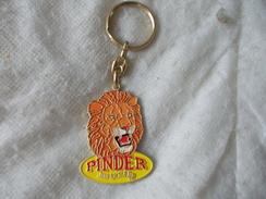 Porte-clefs Cirque Pinder Jean Richard Avec Lion - Key-rings