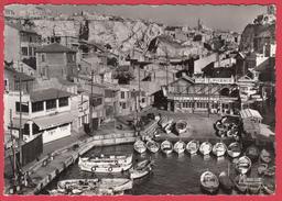 CPSM - 13 - MARSEILLE - Le VALLON Des AUFFES _ SUP * Cf. SCAN *** - Endoume, Roucas, Corniche, Plages