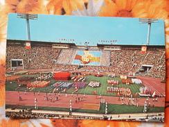 "USSR. MOSCOW.  CENTRAL STADE / STADIUM ""LUZHNIKI"" - Old Soviet Postcard, 1980 Official Edition - Stadi"