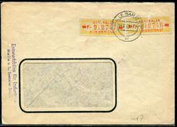 ALLEMAGNE -  RDA - SERVICE N° 54 (Y & T ) OU N° 18 ( MICHEL ) / LETTRE DE HALLE LE 24/7/1958 POUR WURZEN - TB - Service