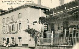 Lamure Sur Azergues L'hotel L'amelie Circulee En 1915 - Lamure Sur Azergues