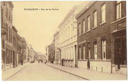 MOUSCRON - Rue De La Station - Moeskroen