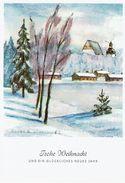 (14.408) Künstlerkarte, Frohe Weihnacht & Neues Jahr - Weihnachten