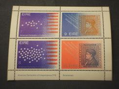 IRLANDA - BF 1976 INDIPENDENZA USA - NUOVO(++) - Blocchi & Foglietti