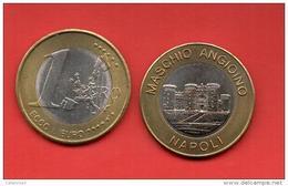 EUROS PRUEBA -  VATICANO -  1 EURO - NAPOLI - PRUEBA - EURO