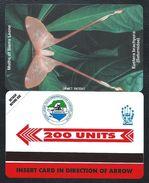 SIERRA LEONE 200u Papillon MINT NEUVE SLNTC URMET Butterfly Butterflies - Sierra Leone