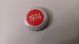 CAPSULE DE BIERE KRONENBOURG - 1974 GRISE - Cerveza