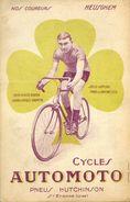 Cyclisme Velo Nos Coureurs Heusghem Cycles Automoto Pneus Hutchinson Saint Etienne - Cyclisme