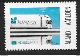 Aland 2017 Timbre Neuf My Aland Camion Postal - Aland