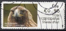 Irlanda 2010 Label Post And Go - Golden Eagle - Aquila Chrysoetos Used Ireland Eire - Usati