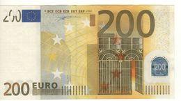 """200 EURO  """"U""""   Firma Duisenberg    T 001 B5  Serie U34002842864   /   A  - UNC - EURO"""