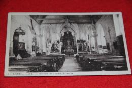 37 Ligueil Interieur De L' Eglise St. Martin 1943 - France