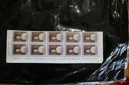 Vatican 338 Painting Block Of 10 Some Creasing Has Been Folded 1962 A04s - Unused Stamps