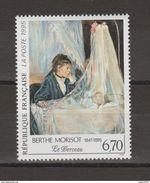 """Timbre FRANCE / 1995 / Y&T N° 2972 ** : """"Le Berceau"""" (Berthe MORISOT) - Gomme D'origine Intacte - Unused Stamps"""