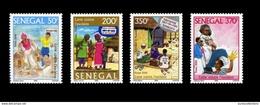 SENEGAL UNESCO 2006 LUTTE CONTRE L'EXCISION - FULL SET - RARE -  MNH ** - Sénégal (1960-...)