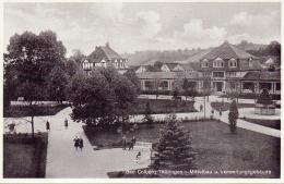 ALTE Foto- AK  BAD COLBERG / Thür.  - Mittelbau & Verwaltungsgebäude -  Ca. 1935 - Bad Colberg-Heldberg