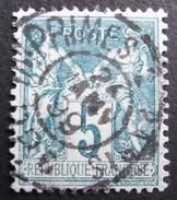 LOT R1537/62 - SAGE Type II N°75 SUPERBE CàD DES IMPRIMES PARIS PP6 24 JANVIER 1899 - 1876-1898 Sage (Type II)