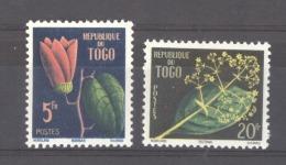 Togo  :  Yv  276-77  **   Fleur - Flower - Togo (1960-...)