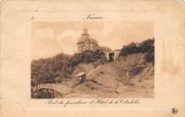 NAMUR - Pont Du Funiculaire Et Hôtel De La Citadelle - Namen