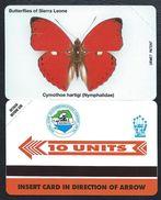 SIERRA LEONE 10u Papillons MINT NEUVE SLNTC URMET Butterfly Butterflies Papillon - Sierra Leone