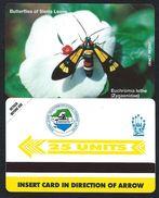 SIERRA LEONE 25u Papillons MINT NEUVE SLNTC URMET Butterfly Butterflies Papillon - Sierra Leone
