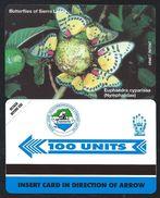 SIERRA LEONE 100u Papillons MINT NEUVE SLNTC URMET Butterfly Butterflies Papillon - Sierra Leone