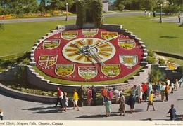 Floral Clock, Niagara Falls, Ontario  Horloge Florale - Chutes Du Niagara