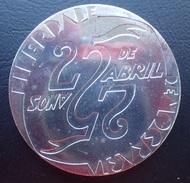 Portugal - 1000 Escudos (1000$00) 1999 25th April 25 Abril - Silver - UNC - Portugal