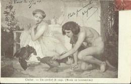 Gérôme - Un Combat De Coqs - Musée Du Luxembourg - Peintures & Tableaux