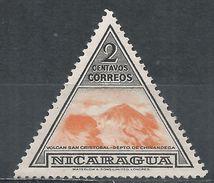 Nicaragua 1947. Scott #706 (M) San Cristobal Volcano - Nicaragua