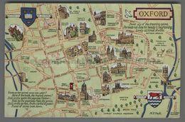 V2504 OXFORD MAP ILLUSTRATION VG SB FP (m) - Oxford