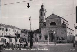 Brescello Piazza E Chiesa Parrocchiale - Autres Villes