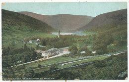 Glendalough, General View, Co. Wicklow, 1907 Postcard - Wicklow