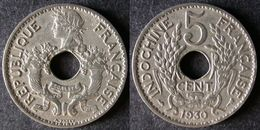 INDOCHINE  5 Cent 1930  FRENCH INDOCHINA  FRANCE Colonie  PORT OFFERT - Camboya