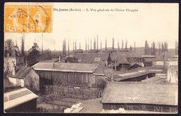 CPA - SAINTE JAMME (72 - SARTHE) - VUE GENERALE DE L'USINE CHAPPEE (N° 2) - France