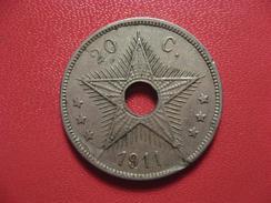 Congo Belge - 20 Centimes 1911 7152 - Congo (Belgian) & Ruanda-Urundi